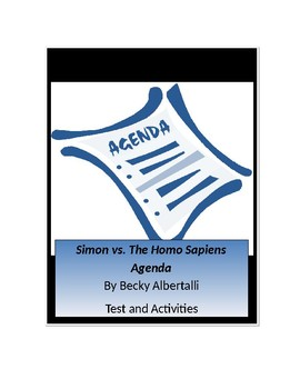 Simon vs. The Homo Sapiens Agenda by Becky Albertalli Tests and Activities