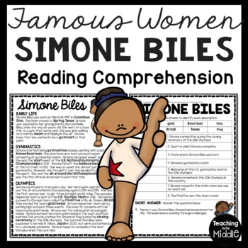 Simone Biles Commonlit Answer Key / Which Of The Following ...