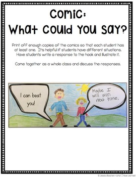 Simon's Hook: Activities to teach students how to respond to teasing