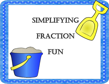 Simpifying Fraction Fun