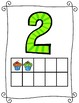 Simple 1-20 Numbers Poster with tens frame