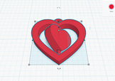 Simple 3D Printing Fundraiser - Spinning 3D heart