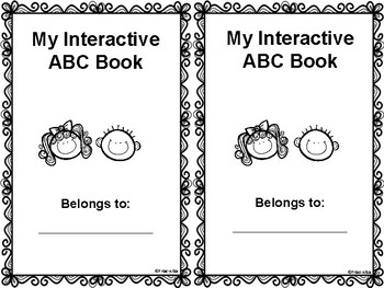 Simple ABC Interactive Notebook