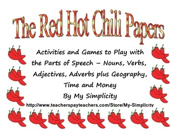 Simple Activities and Games with Grammar, Geography, Time and Money