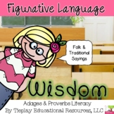 Adages and Proverbs Figurative Language Activity