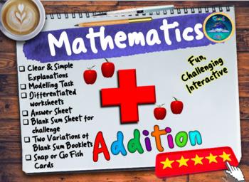 Simple Addition By Teach Elite Teachers Pay Teachers