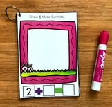 Simple Addition Activities:  Easter Draw and Flip Books