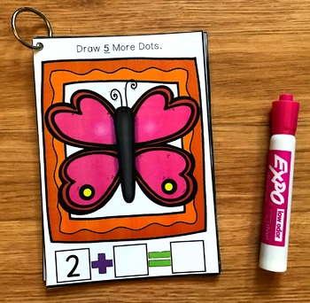 Simple Addition Activities: Spring Draw and Flip Books