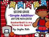 "Simple Addition Math Centers for First and Second Grade ""O"