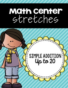 Simple Addition Center Strips