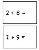Simple Addition Flip-Book (Editable)