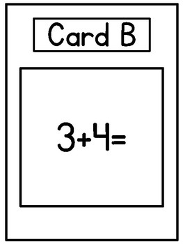Simple Addition Math Scoot (Math Game)