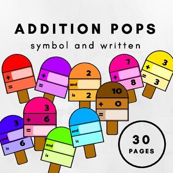 Simple Addition Pops
