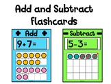 Simple Addition & Subtraction Flashcard Activity 1 - 20