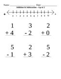 Simple Addition & Subtraction up to 5