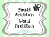 Simple Addition Word Problems