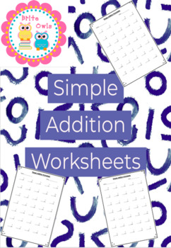 Simple Addition Worksheets - Basic Math Facts