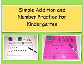 Simple Addition and Number Practice for Kindergarten