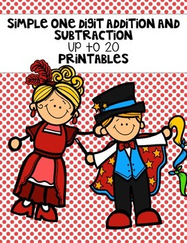 Addition and Subtraction Up to 20 Printables