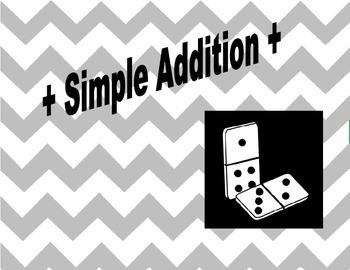 Simple Addition using dominos