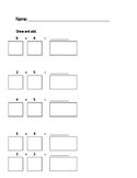 Simple Addition with Draw Picture Boxes