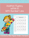 Simple Addition with Number Line