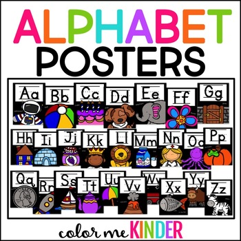Alphabet Posters for the Primary Classroom