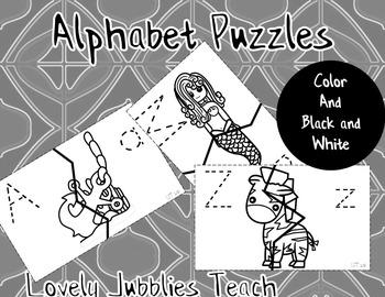 Simple Alphabet Puzzles