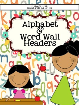 Simple Alphabet and Small Word Wall Cards