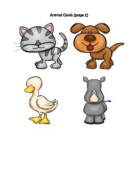 Simple Animal Sounds Game