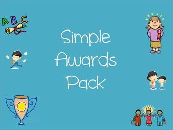 Simple Award Pack