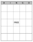 Simple BINGO Board - FREE