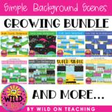 Simple Background Scenes | GROWING BUNDLE