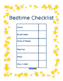 Simple Bedtime Checklist