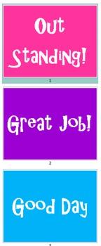Simple Behaivor Chart Editable
