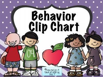 Simple Behavior Clip Chart