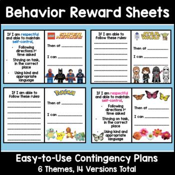 Simple Behavior Contingency Plan
