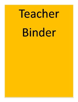 simple binder covers by elizabeth gibson teachers pay teachers