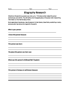 Simple Biography