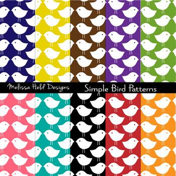 Simple Bird Patterns