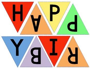 Simple Birthday Banner