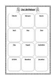 Simple Birthday Tracker for Teacher Organiser