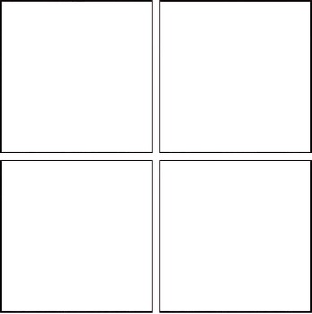 Simple Blank Comic Templates - Free