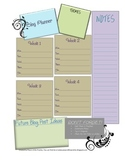 Simple Blog Planner