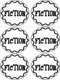 Simple Book Bin Labels/Badges