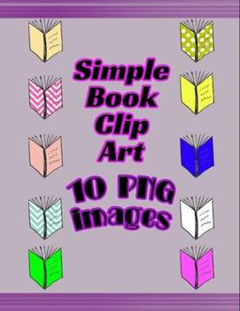 Simple Book Clip Art