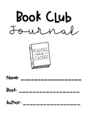 Simple Book Club Journal For ANY Book!
