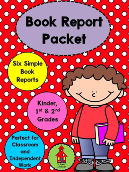 Simple Book Report Packet