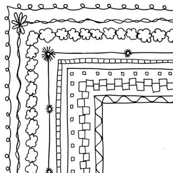 Simple Borders #6