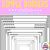 Simple Borders - Circles